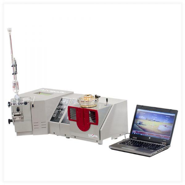 máy đo đặc tính lưu biến của khối bột nhào alveopc